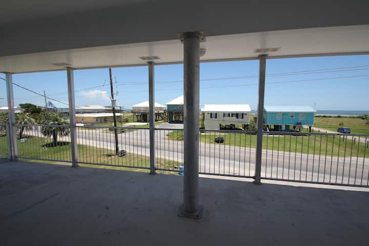 Dat Camp, New construction, beautiful gulf view, on Highway, 4 bed/4 bath