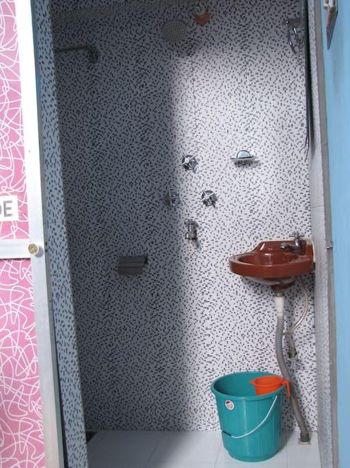 Toilet of double room.