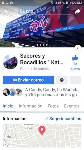 SABORES Y BOCADILLOS KATHYo