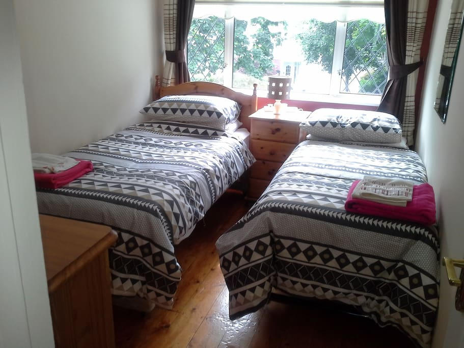 Twin room with guest bed