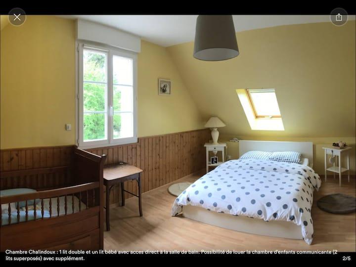 Suite familiale en Touraine