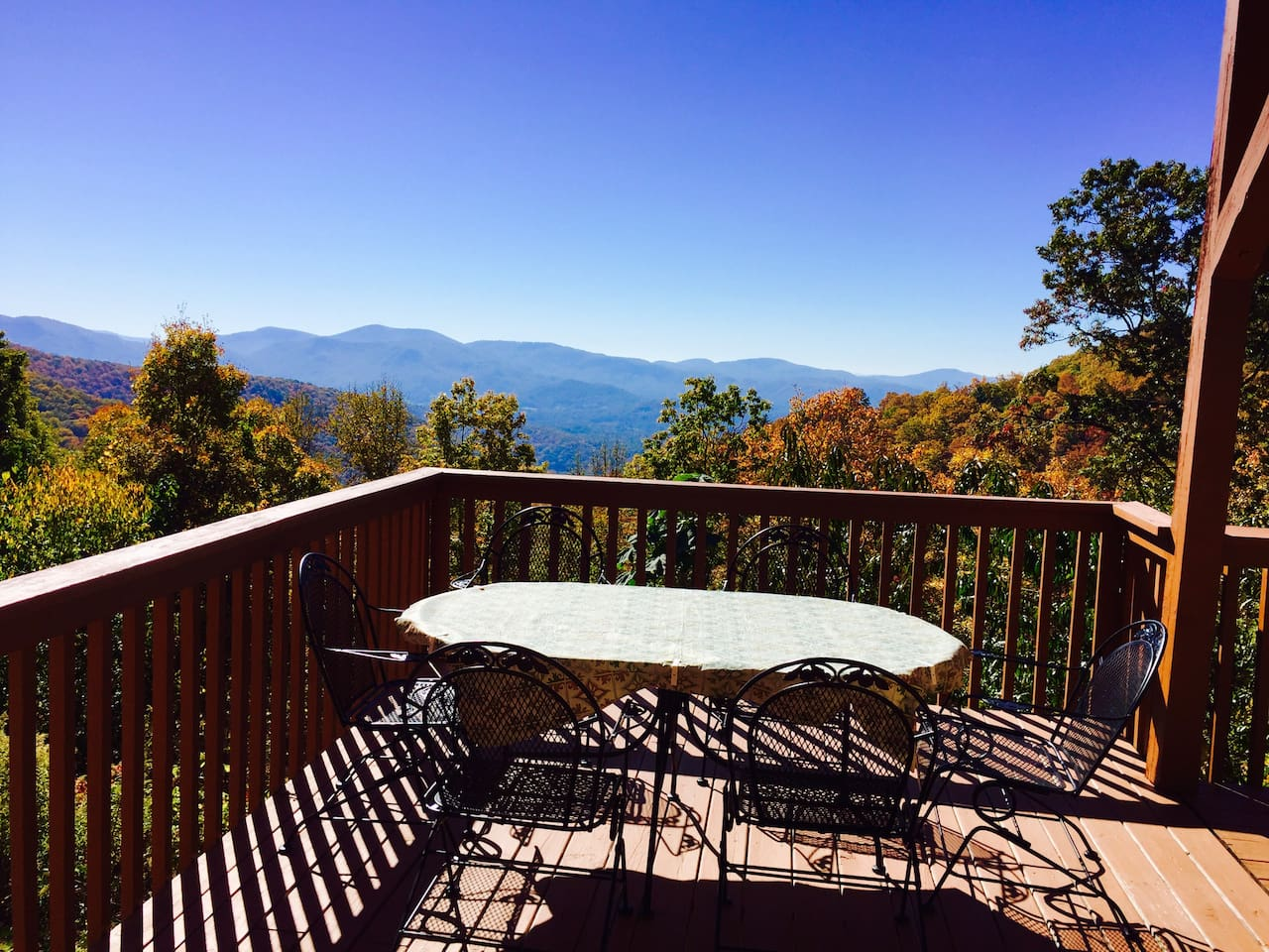 Breathtaking views from the main porch