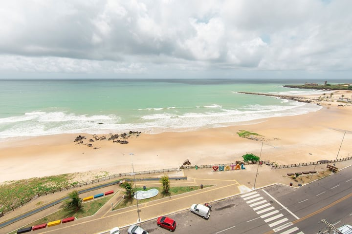 Flat a beira mar no Golden Tower em Natal por Carpediem