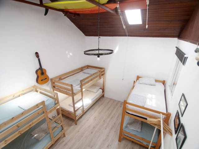 Bed in a shared big room in the hometown of Agaete - Agaete