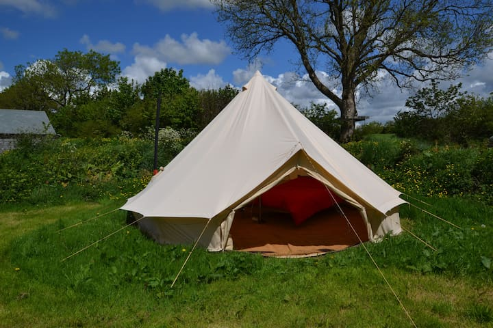 Bella- Bell Tent with Log Burning Stove