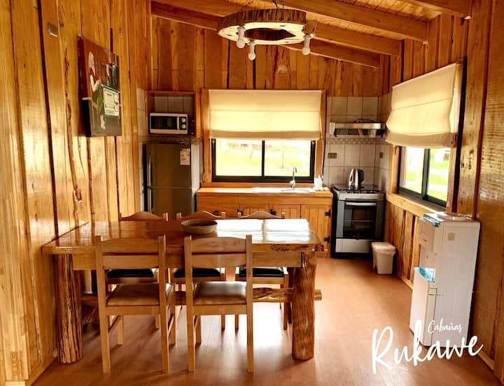 Cabaña Rukawe Chiloé, para 5 personas