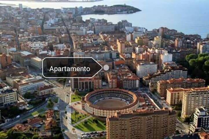 Tranquilo apartamento bien situado - Gijón - Apartment