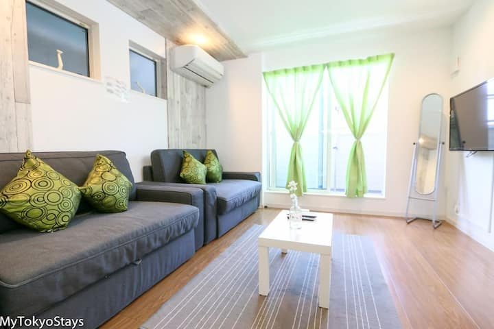3BR House, Easy access to Shinjuku/Shibuya Area!