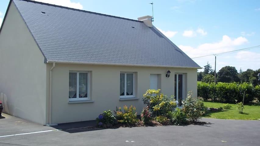 Jolie maison entre le Mont Saint Michel et Cancale - Saint-Marcan - Rumah