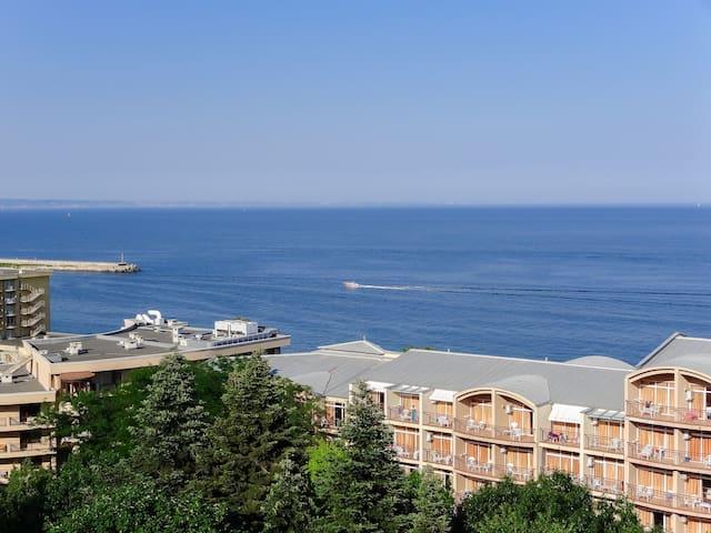 Апартаменты с видом море. Золотые пески. Болгария