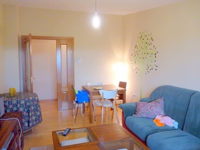 Amplio apartamento en la Ribeira Sacra