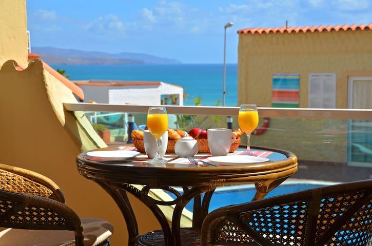 Apartment PLAYA - Pool - 50 m to the beach - WiFi - Costa Calma - Apartamento
