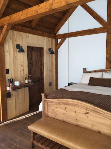 Glamping Tents with outdoor deck and fireplace - Westcliffe - Zelt