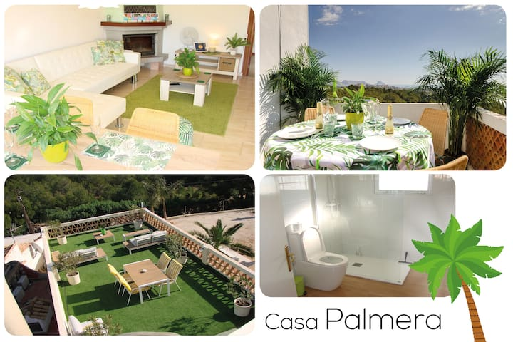 Casa Palmera🌴 Cozy & Modern Seaview Eco Apartment