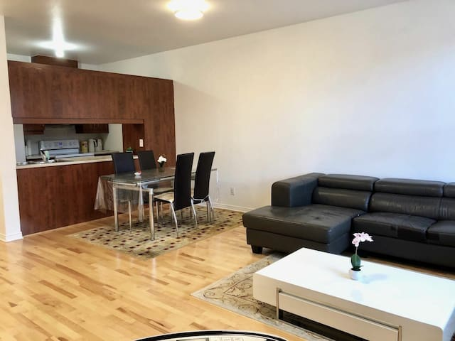 Spacious Condo, 2 bedrooms, Parking, Downtown