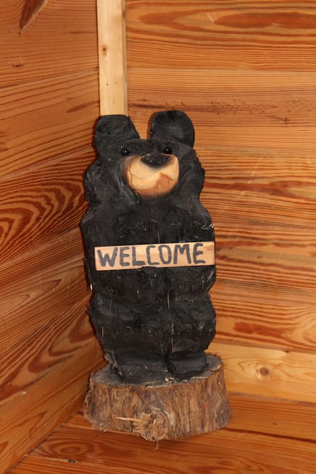Welcome to our cabin!