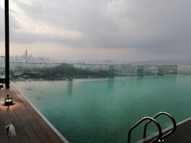 EkoCheras Loft with super city kl view H-08-13A