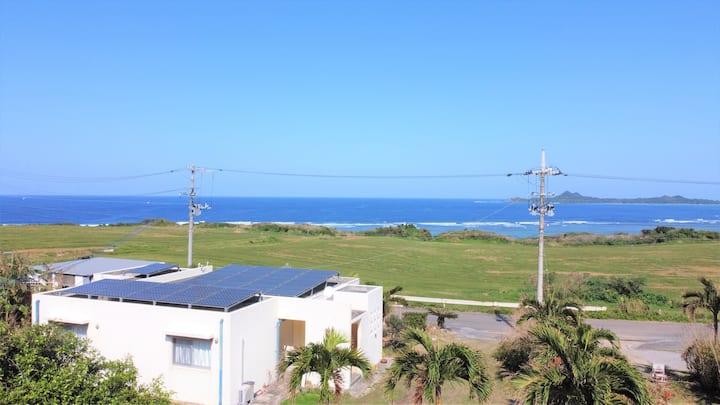 オーシャンビュー崎枝 / 石垣島の海、山、空を独り占め!貸し切り1軒屋!