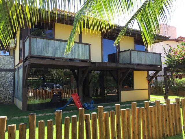 Casa na praia, 6 quartos e piscina! - Mata de São João - Casa