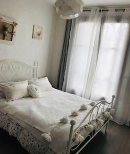 Chambre ensoleillée