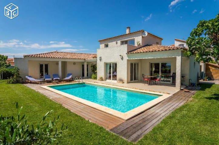 Maison 150m2 Piscine BOUZIGUES - Languedoc-Roussillon-Midi-Pyrénées - House