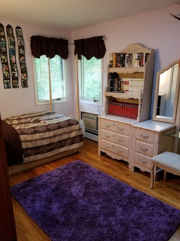 Warm & Inviting Bedroom for Females Only