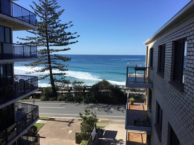 Coolum beach view