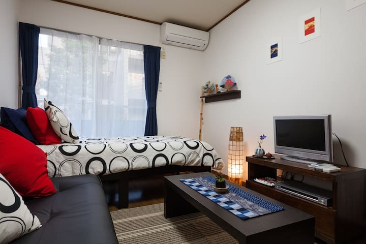 Cozy & Cheap! 15mins to Shibuya. - Kawasaki - Apartment