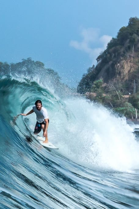 Playa Hermosa, advanced.
