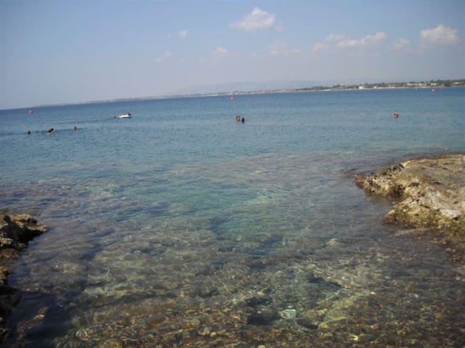 Il nostro mare (scogliera a 500 mt)