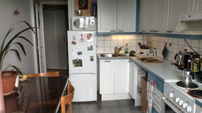 Our spacious kitchen