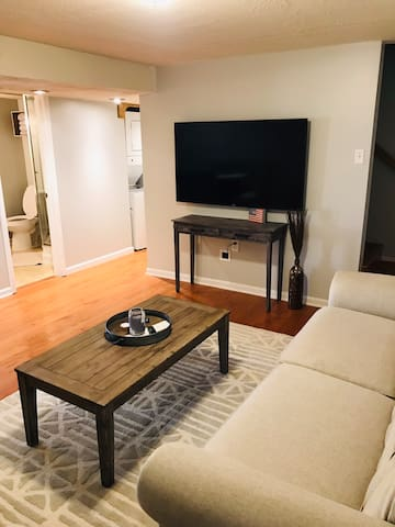 Clean updated private apartment