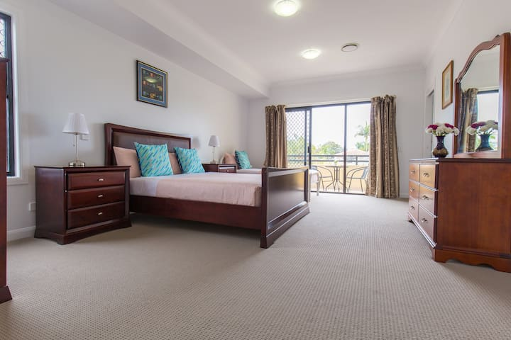 Master bedroom with en-suite on the third level