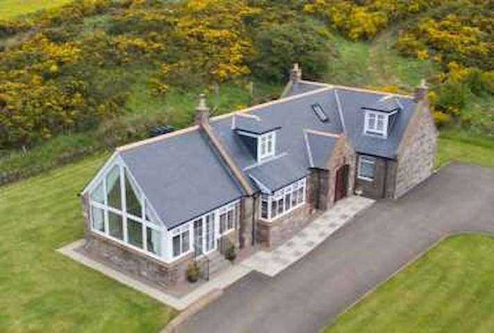 Lilybank Self Catering Luxury Cottage - Saint Cyrus - Hus