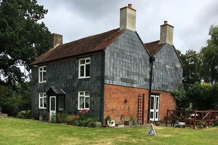 Old New Forest Farm House