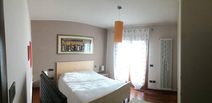 Camera matrimoniale a Marostica con bagno privato