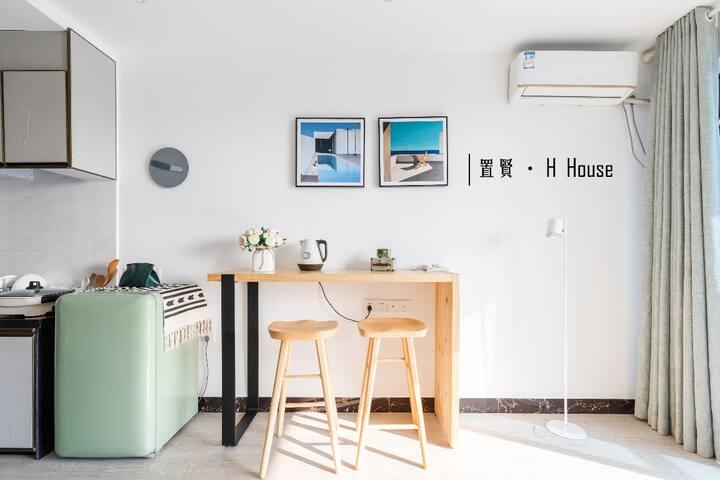 【H HOUSE】电子科大300米/溢彩荟/中山北站 /120寸超大屏家庭影院/闺蜜/情侣
