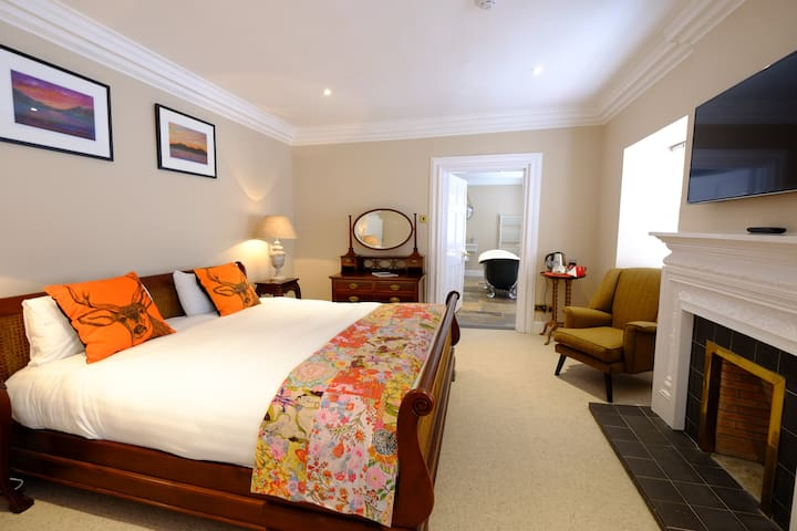 Superior Super King Room - B&B - Argyll and Bute - Гестхаус