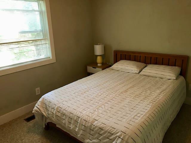 #1 Bedroom Upstairs with Queen Bed