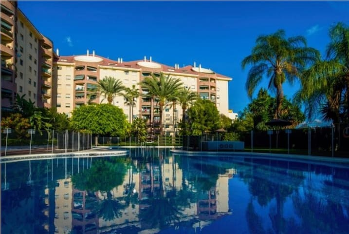 Peaceful accommodation in the Centre of Marbella - Marbella - Daire
