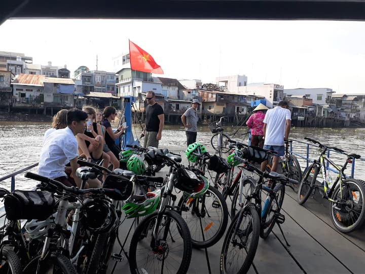 Experience Cu Chi villages by Bike