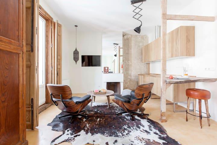 Apartamento en Puerta del Sol, luminoso y elegante