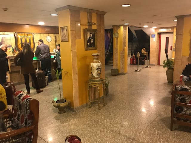 Atlas Hotel. Downtown Cairo. My Own - Kair
