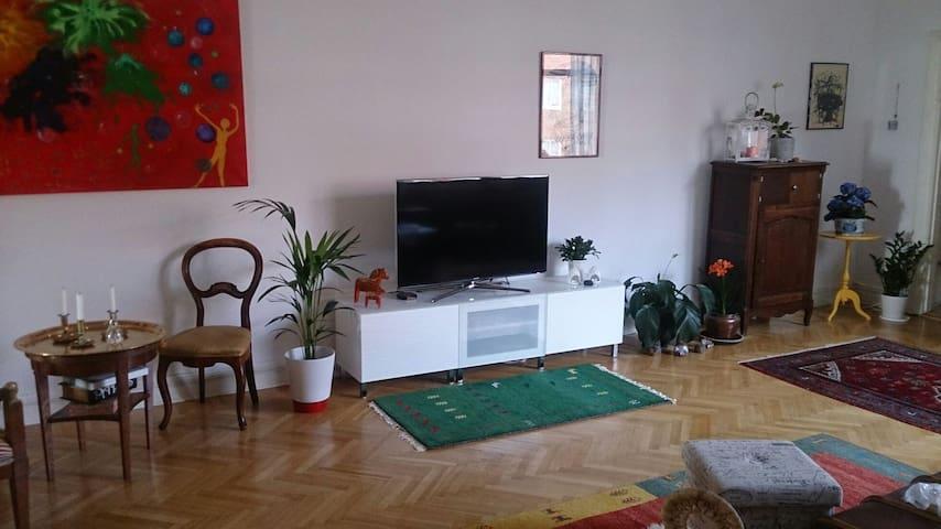 Två bädds rum i stor lägenhet - Trelleborg - Lejlighed