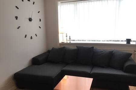 Dejlig 2 værelses lejlighed