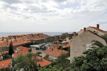 Medieval City Walls View