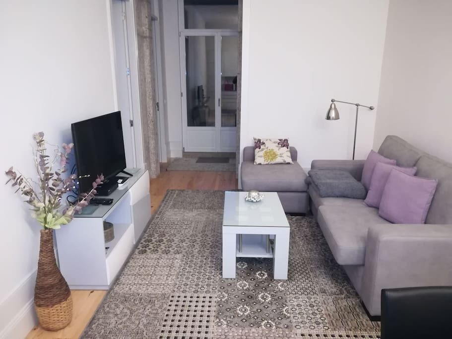Living-room and space of apartment