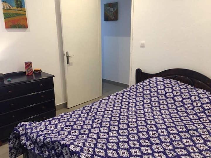 Chambre bleuet Cilaos 40€