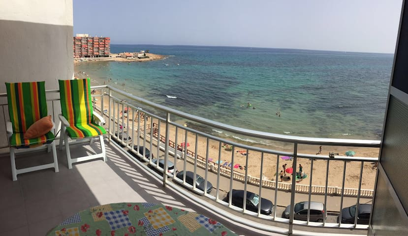 Casa en primera línea de playa - Torrevieja  - Huis