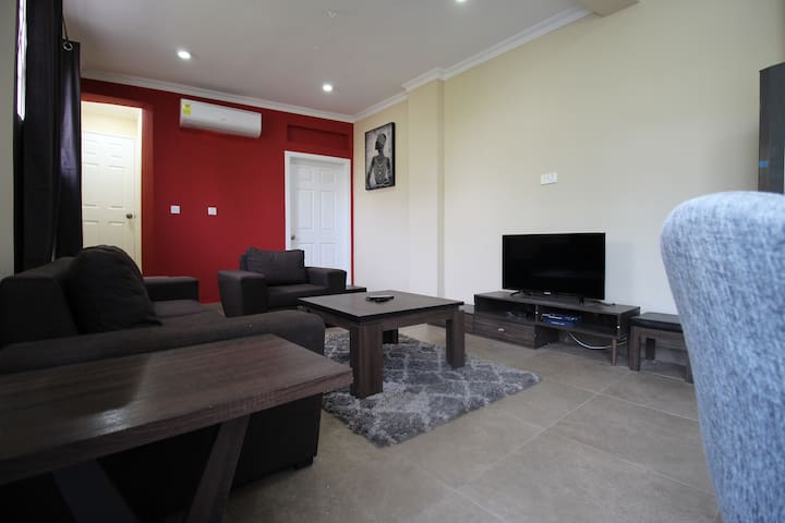 Labone Accra 1 BR Apt with Parking + Free WIFI!